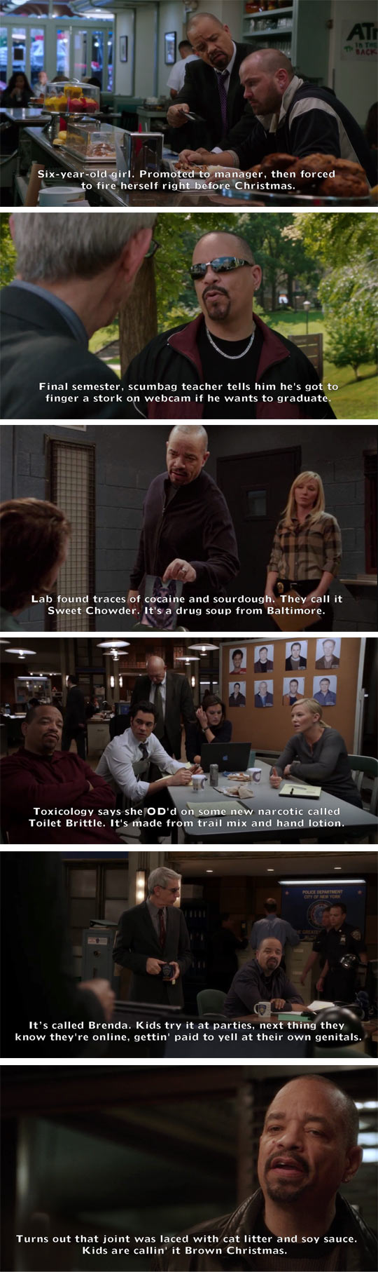 Ice-T: Law And Order SVU