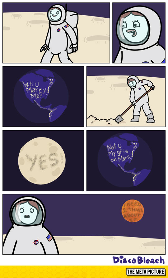 Proposal In Space