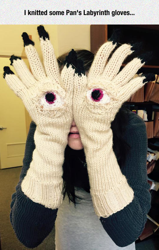 She Knitted Nightmares