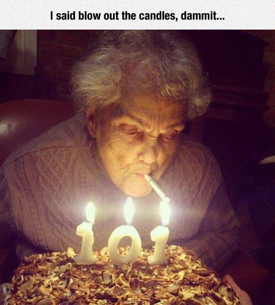 Grandma Knows How To Party