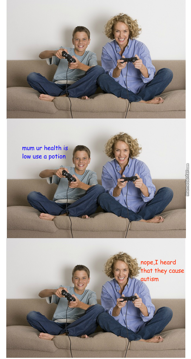If Moms Played Videogames