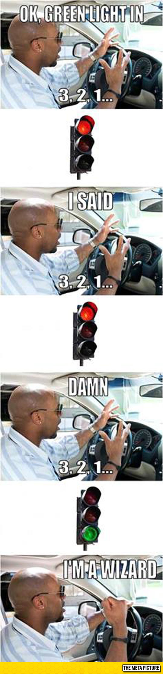 Every Time I Try To Predict The Traffic Light