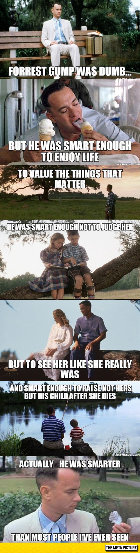 Forrest Gump Wasnâ??t Just The Story Of A Dumb Guy