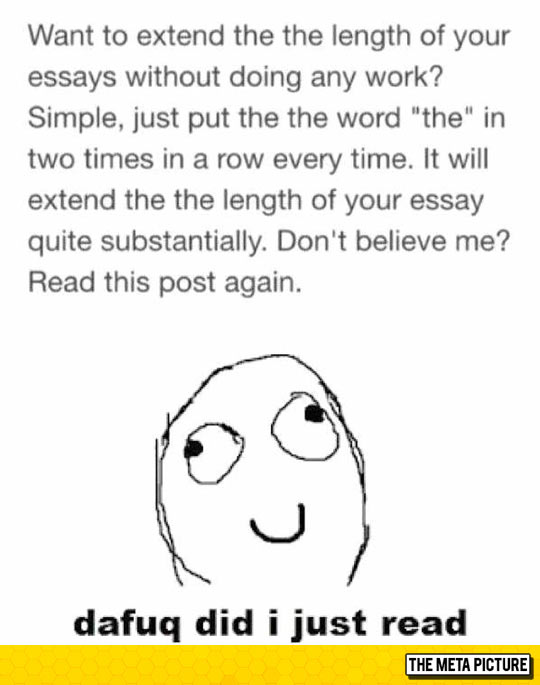 How To Extend The Length Of Your Essays