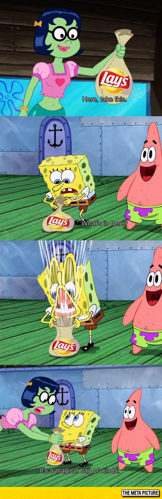I Looked At Patrick The Entire Time And Can't Stop Laughing