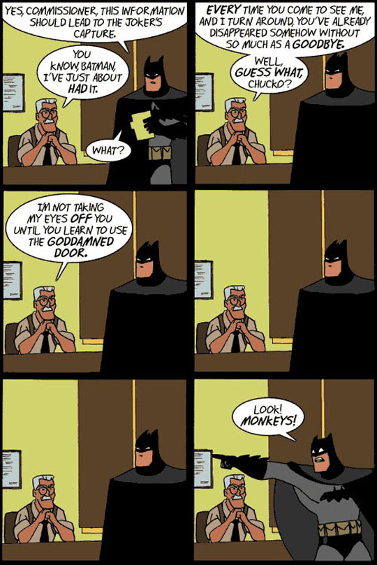 Sorry But Not This Time, Batman