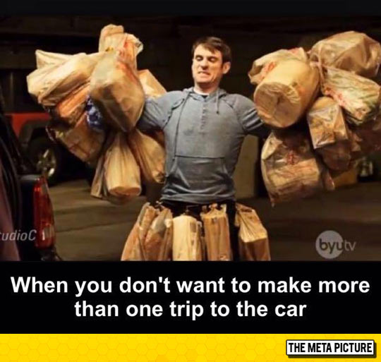 Two Trips? No Way