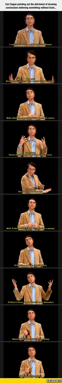 Carl Sagan Has A Very Valid Point