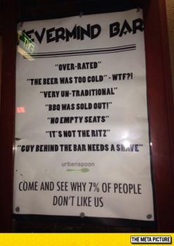 Great Advertising For A Bar