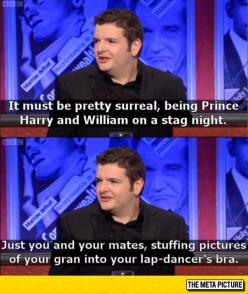 Kevin Bridges On Royal Family Problems