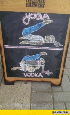 Local Pub Knows What's Up