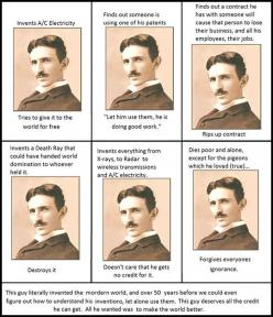 Nikola Tesla Was Awesome