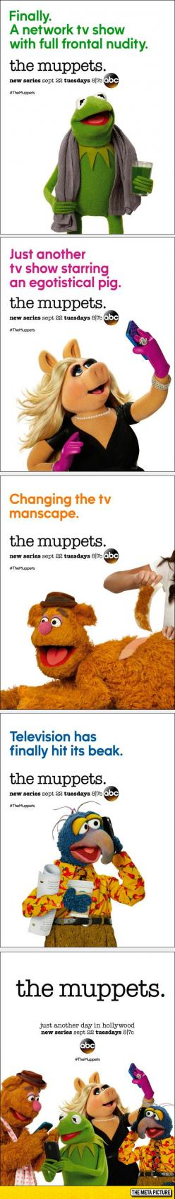 The New Posters For The Muppets Are Hilarious