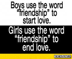 The Word Friendship