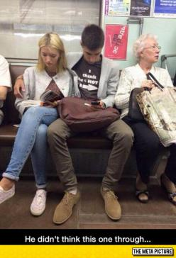 When You Sit In The Wrong Seat