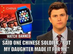 China Has Banned Their Soldiers From Wearing The New Apple Watch