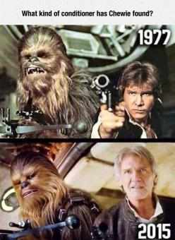 Han Solo And Chewie, Then And Now