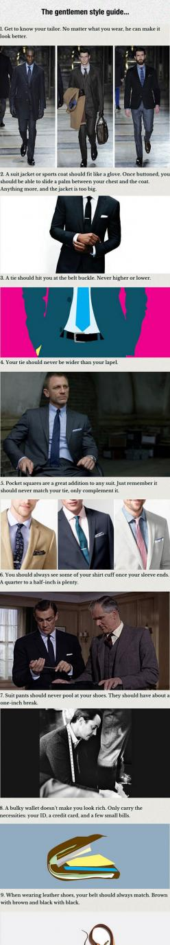 How To Look Like A Gentleman