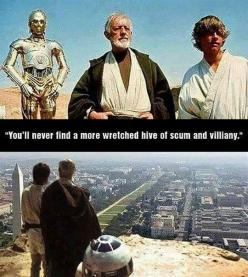 If Star Wars Took Place In Washington, D.C.