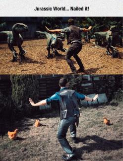 Jurassic World On A Budget