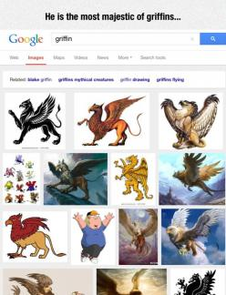 Searching For 'Griffin' On Google