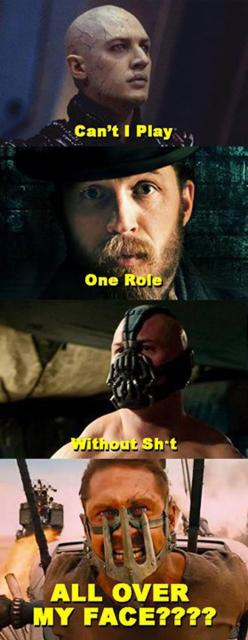 Tom Hardy Is Noticing The Pattern
