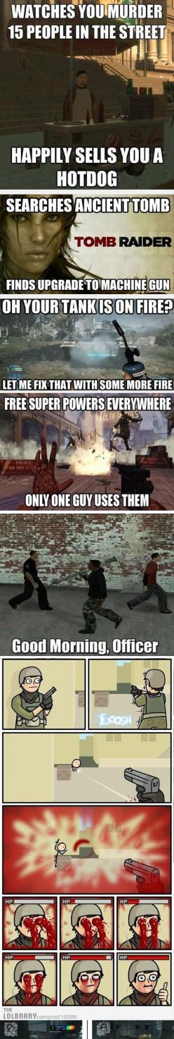 Video Games And Their Logic