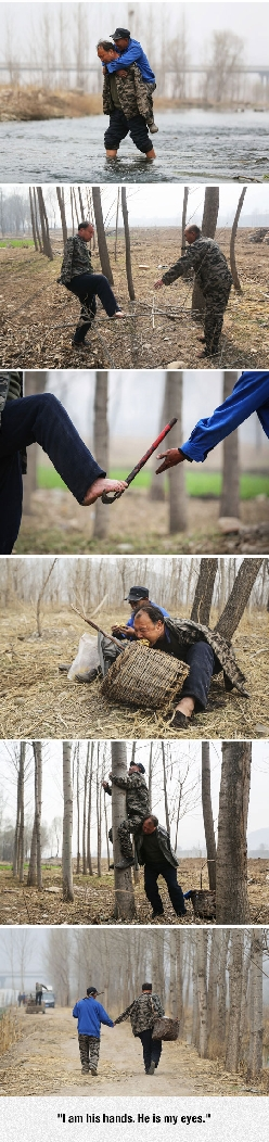 A Blind Man And A Double Amputee Planted Thousand Trees