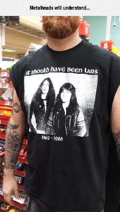 Metallica True Fans Be Like