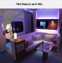 Now That Is What I Call First Class