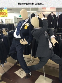 Some Fancy Mannequins