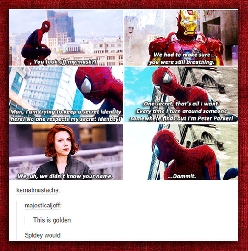 Spidey Just Wants To Be Part Of The Team