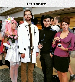 The Cast From Archer