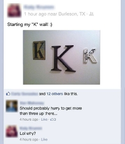The K Wall