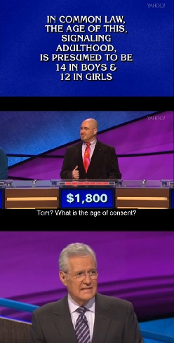 The Most Cringe-Worthy Answer On Jeopardy
