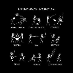 Things You Should Not Do While Fencing