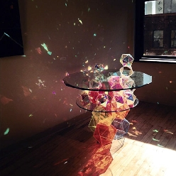 Amazing Prism Table
