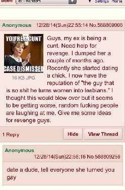 Anon gets some advice