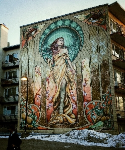 Awesome street art in Montreal
