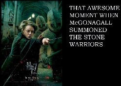 Bad ass McGonagall