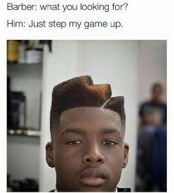 Barber: What do you want? comp