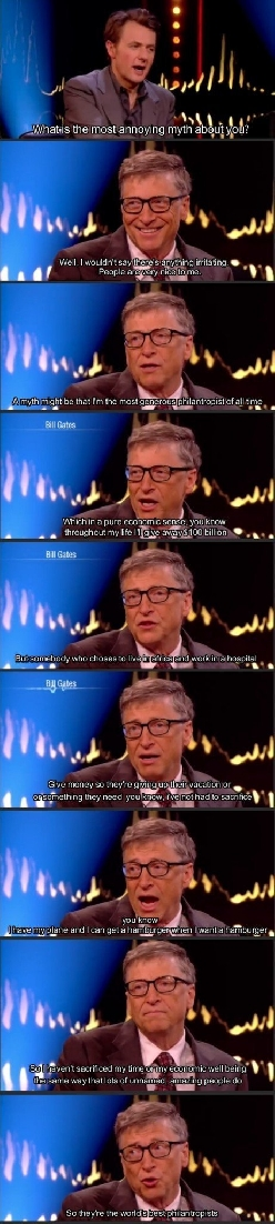 Bill the humble Gates
