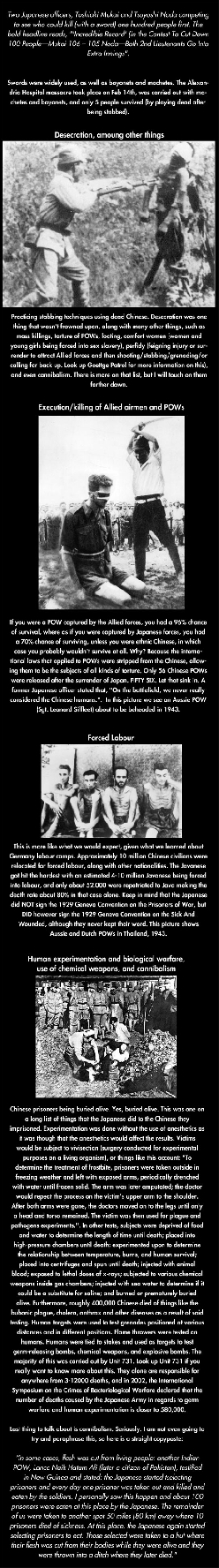 Did you know what Japan did in World War II