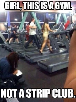 Going To The Gym With Class