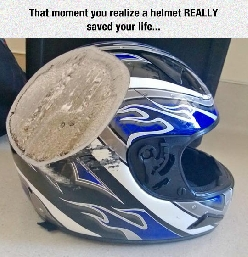 Helmets Save Your Life