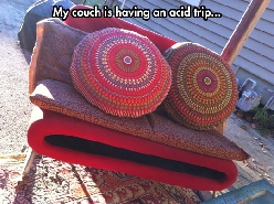 High couch