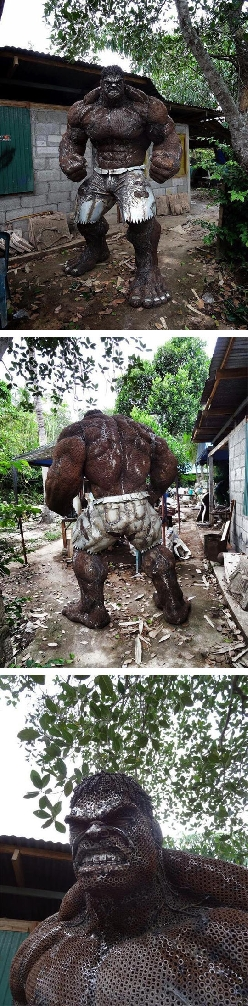 Incredible Scrap Metal Hulk