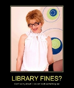 Library fines?