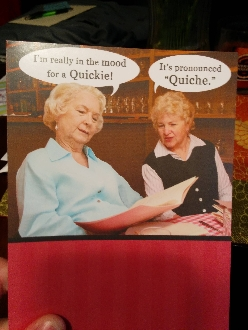 Mom got this card for her birthday.