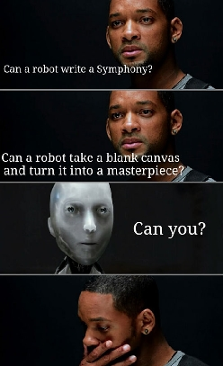 One Of My Favorite Scenes From 'I, Robot'